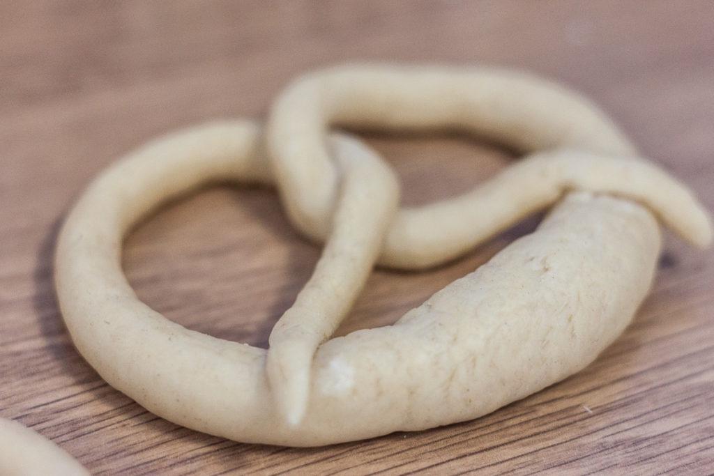 unbaked german pretzels